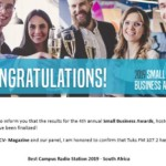 Tuks FM wins international Small Business Award