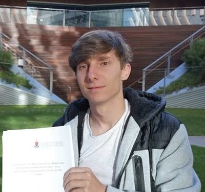 Dr Marko Svicevic: UP's youngest LLD graduate