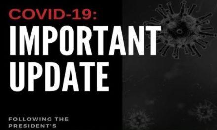 COVID-19 Update: 15 March