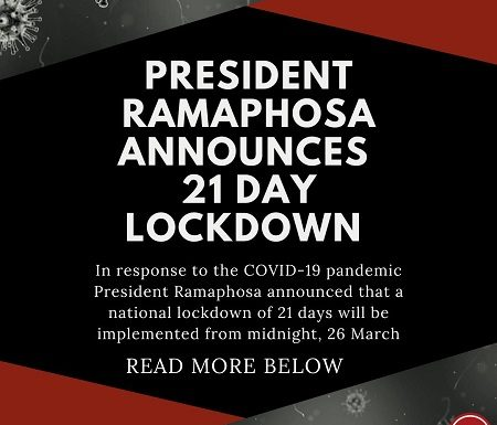 COVID-19 Update: 23 March