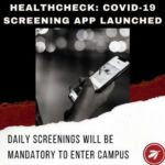 Launch of HealthCheck: A Daily COVID-19 Risk Screening System for Universities