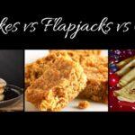 Pancakes vs Flapjacks vs Crepes